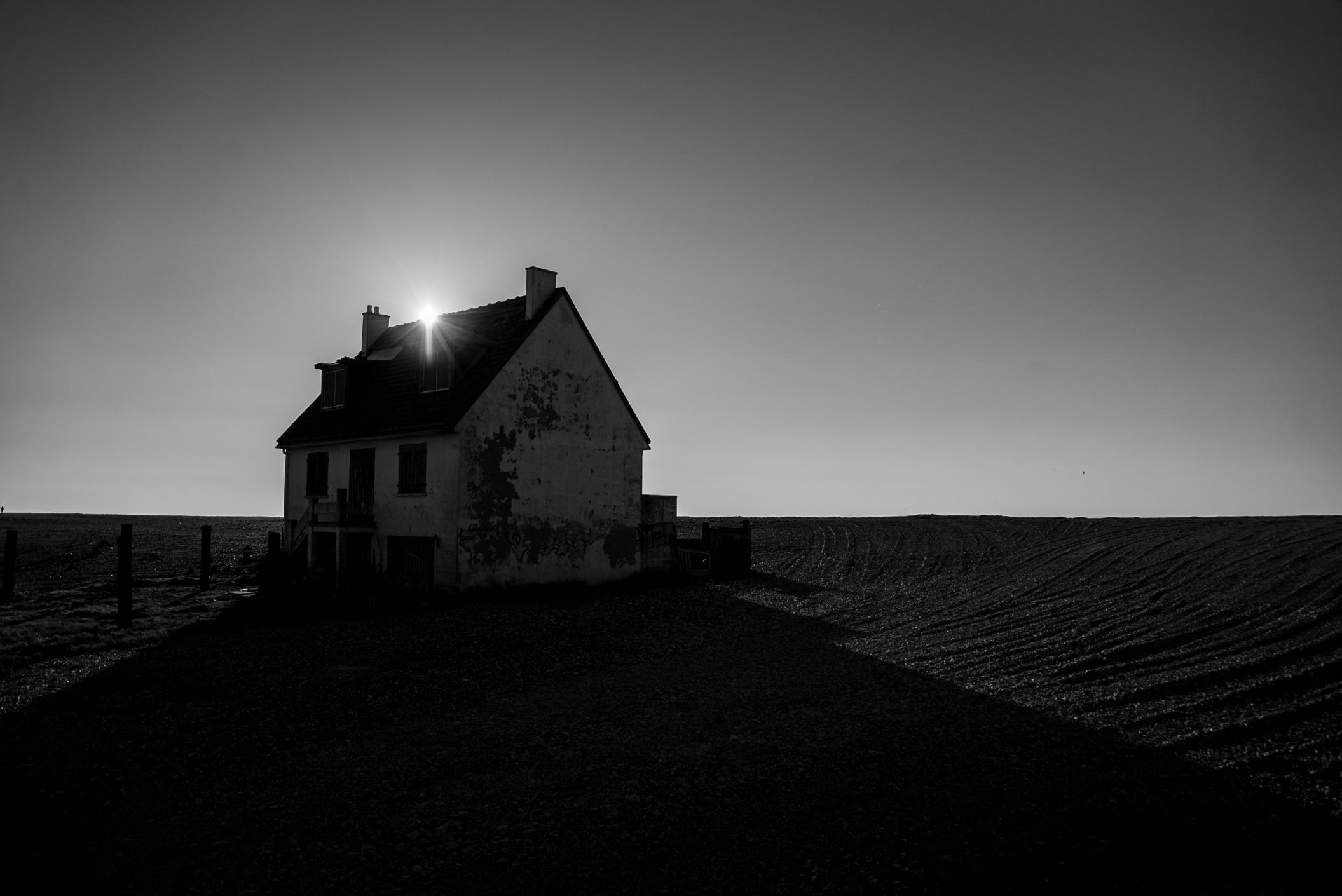 La maison abandonnée, Cayeux sur Mer